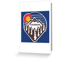 Colorado Throwback Greeting Card