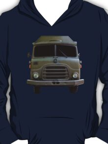 Isolated Army Truck From Front T-Shirt