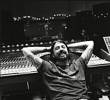 Foo Fighters Dave Grohl Mixing Board by FooFighters