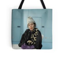 Perplexed and Frozen Tote Bag
