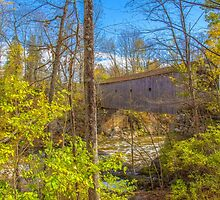 USA. Connecticut. Kent. Bulls Covered Bridge. by vadim19