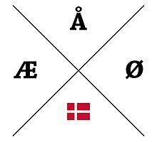 Nordic Letters - Denmark by kyliewilson