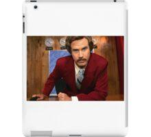 Ron Burgundy iPad Case/Skin