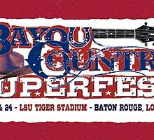 Bayou country super fest official 2015 by jgaines247