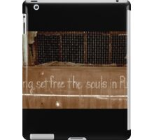 The Dying Set Free the Souls in Purgatory iPad Case/Skin