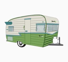 Retro Hipster Trailer Kids Clothes