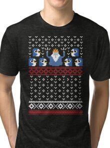 Christmas Time - Ugly Christmas Sweater Tri-blend T-Shirt