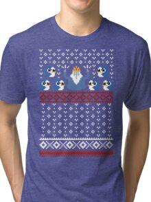 Christmas Time - Ugly Christmas Sweater Tri-blend T-Shirt