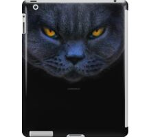 Funny Cross Cat iPad Case/Skin