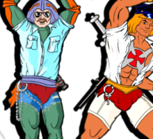 YMCA He-Man Sticker