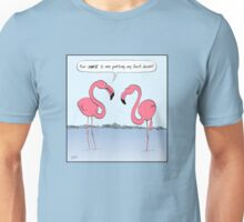 Flamingos Cartoon Unisex T-Shirt
