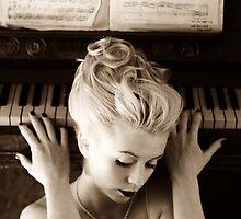 girl on a piano no.2 by giuseppe dante  sapienza