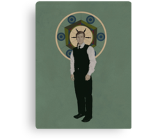 Handsome Doctor Canvas Print