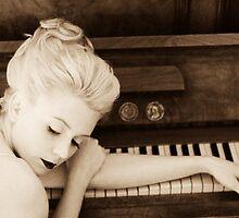 girl on a piano no.1 v.2 by giuseppe dante  sapienza