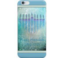 Happy Hannukah iPhone Case/Skin
