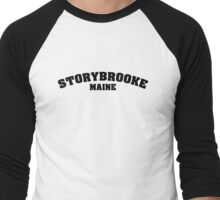Once Upon a Time - Storybooke, Maine Men's Baseball ¾ T-Shirt