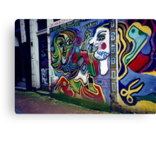 Dutch Advertisement I Photographed in 2000 Canvas Print
