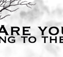 The hanging tree lyrics ( hunger games) Sticker