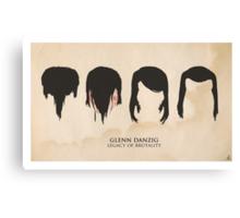 Glenn Danzig: Legacy of Brutality Canvas Print