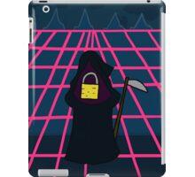 Litteral-formers Grim reaper Pad lock iPad Case/Skin