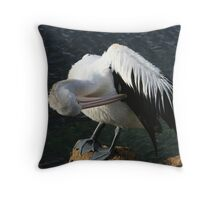 Itchy Under Arm Throw Pillow