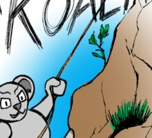 Extreme Koala Absailer Sticker