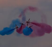 The Red Arrows by chrisipedotcom