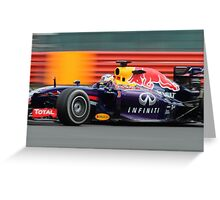 Daniel Ricciardo - Red Bull 2014 Greeting Card