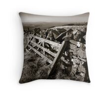 Old Gate, Scottish Borders Throw Pillow