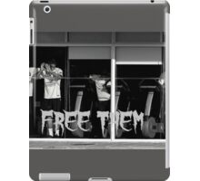Free Them iPad Case/Skin