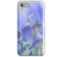 Painted Blue Irises 1 iPhone Case/Skin