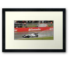 Valtteri Bottas - Williams Martini Racing  Framed Print