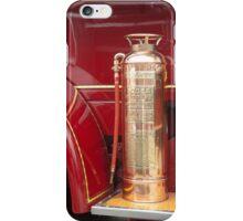 Vintage Fire Extinquiser on old truck iPhone Case/Skin