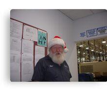 Ferb our own C.A.P.S. Santa Canvas Print
