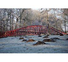 Barge Bridge (winter) Photographic Print