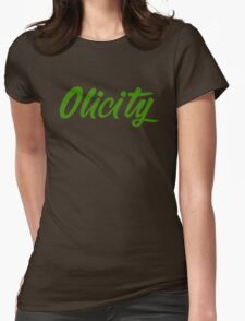 Arrow- Olicity Womens Fitted T-Shirt