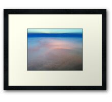 Abstract Sky Framed Print
