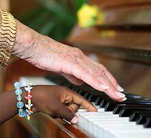 Ebony and Ivory Harmony by tilo