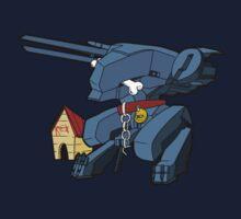 Metal Gear Rex by MortyJoestar