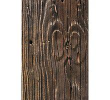 Weathered Wood  Photographic Print
