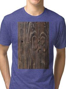 Weathered Wood  Tri-blend T-Shirt