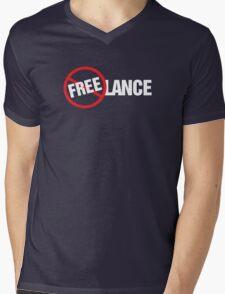 Freelance Not Free T-Shirt Design Mens V-Neck T-Shirt