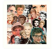 Dial M for Murder She Wrote Art Print