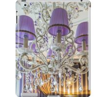crystal chandelier with shade iPad Case/Skin