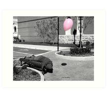 Inflated/Deflated Art Print