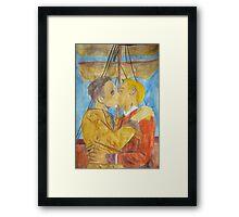 Steampunk Johniaty Framed Print