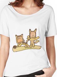 PIKACHU SUITS Women's Relaxed Fit T-Shirt