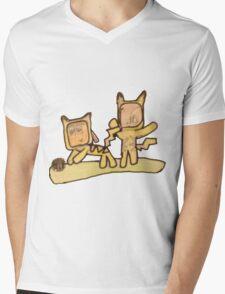 PIKACHU SUITS Mens V-Neck T-Shirt
