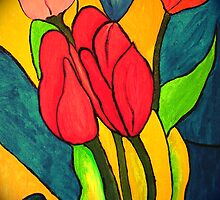 Tulips by robert murray