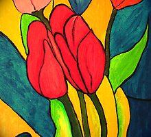Tulips by robert murray